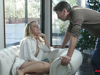 Captivating temptress Lilly Lit is eager for hard dick which belongs to her stepdad