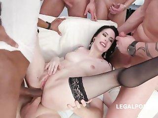 Anna De Ville Kinky Gangbang