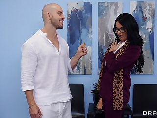 Erotic fucking with beautiful Anissa Kate after a massage