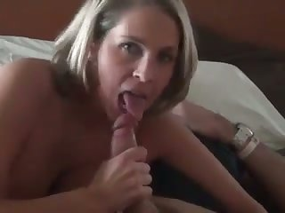 Torrid quite buxom dirty MILF with juicy ass is fond of giving head