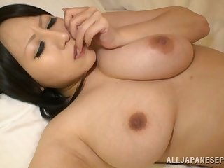 Chubby Asian wife Hana Nonoka licked and fucked in the hotel room