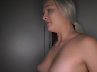 The Platinum blonde look is sexy af to me, I love bitches with the full blown porn star look (Requested)