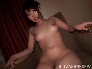 Handsome Japanese cutie Misuzu Kawana moans while having nice sex