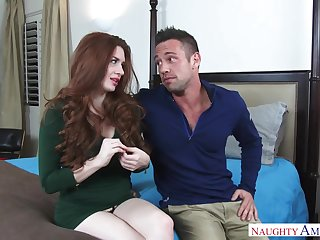 Cassidy Klein and Veronica Vain enjoy sneaky sex with Johnny Castle