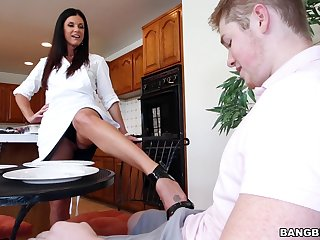 Good morning BJ with his girlfriend's hot mom