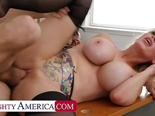 Bad Ass boss Casca Akashova knows what she wants and she wants Tyler's COCK!!!