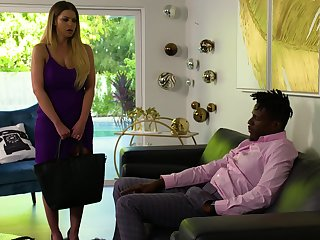 Interracial fucking with busty cheating wife Brooklyn Chase