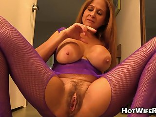 Hot and Hairy Mature Wife - Cheating Wife In Hotel while Cuckold Husband Filming